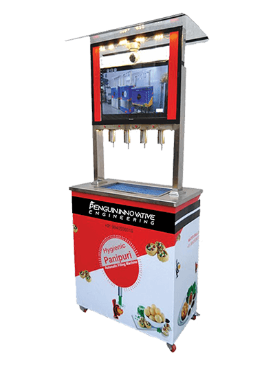 Pani Puri Machine, Home, PENGUIN ENGINEERING
